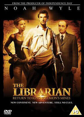 The Librarian: Return to King Solomon's Mines DVD (2007) Noah Wyle, Frakes