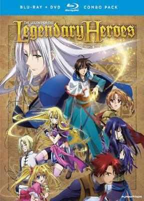 The Legend Of The Legendary Heroes: The Complete Series New Blu-Ray/Dvd