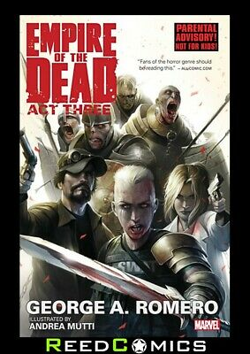 GEORGE ROMEROS EMPIRE OF THE DEAD ACT THREE GRAPHIC NOVEL Paperback (Vol 3) #1-5