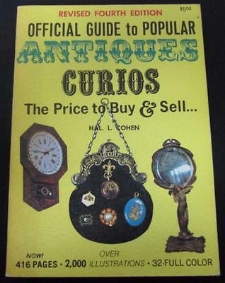 Official Guide to Popular Antiques Curios Price To Buy & Sell 4st Edition PB