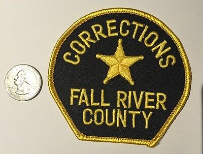Fall River County South Dakota Sheriffs Department Corrections Police Patch Sd