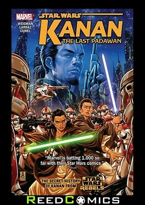 STAR WARS KANAN VOLUME 1 LAST PADAWAN GRAPHIC NOVEL New Paperback Collects #1-6