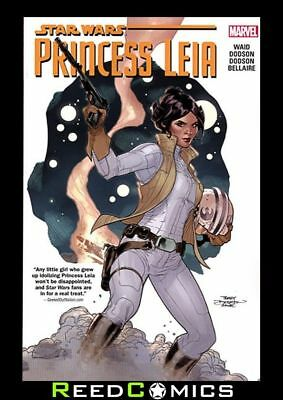 STAR WARS PRINCESS LEIA GRAPHIC NOVEL New Paperback Collects Mini-Series #1-5