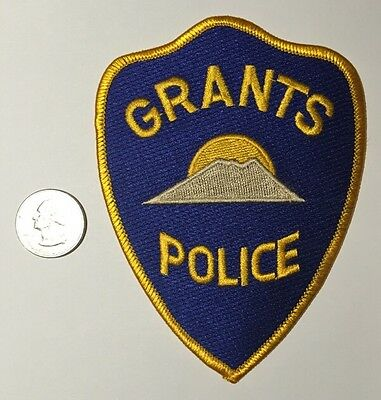 Grants New Mexico Police Department Patch NM