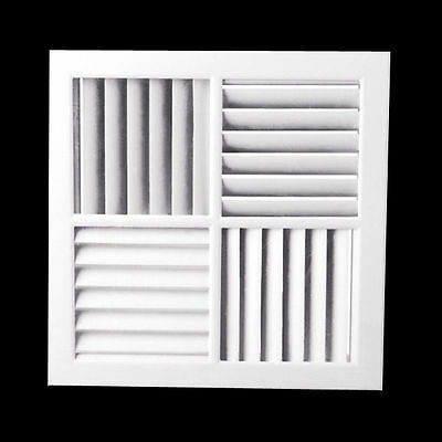 4 Way Vent Multi-Directional Outlet Face 290mm Outlet Aircon Heating&Cooling