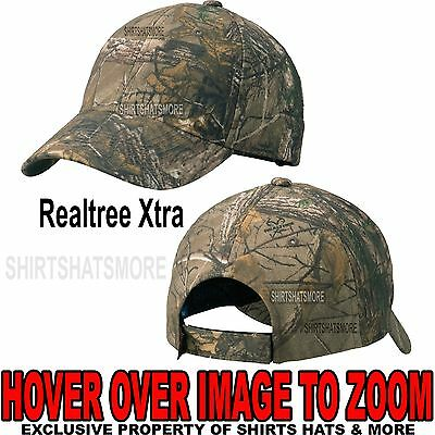 Ladies Major League Bowhunter Realtree Xtra Camo Deer Hunting Cap//Hat MLBH-007