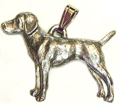 Vizsla Pendant Dog Harris Fine Pewter Made in USA jewelry