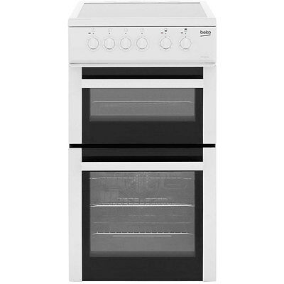 Beko BDVC563AW Electric Cooker with Ceramic Hob Free Standing 50cm White New