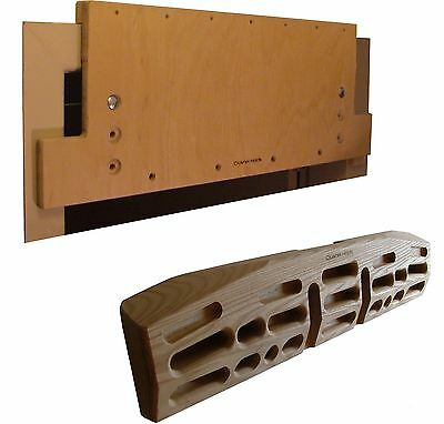 Crusher Matrix & Mount Combined - Fingerboard, Climbing Hold, Hang Board