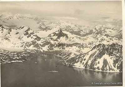 Whaling Station Grytviken South Georgia HMS EXETER A4 Photo Print 1939