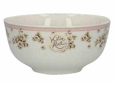 KATIE ALICE Cottage Flower SHABBY CHIC Cereal Bowl VINTAGE INSPIRED