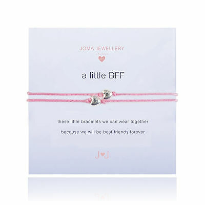 Joma Jewellery Girls a little BFF friendship CHILDRENS pair bracelet in gift bag