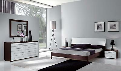 ESF Luxury Bedroom Set Queen Bed Modern Contemporary Made in Italy