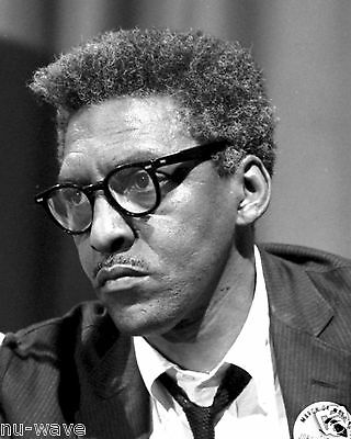 1963 Photo of Bayard Rustin-Civil Rights Leader -African American Activist