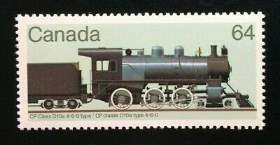 "Canada #1039 MNH, Canadian Locomotives ""2"" Stamp 1984"