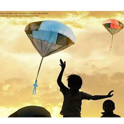 Kids Outdoors Game Educational Toy Fitness Parachute Throw Flying Kite Carabin I
