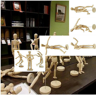 Artist Wooden Manikin Mannequin Sketch Sketching Lay Figure Drawing Model Aid Ps