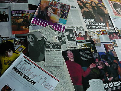 Primal Scream - Magazine Cuttings Collection (Ref T26)