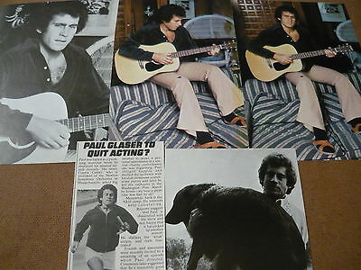 Paul Michael Glaser - Magazine Cuttings Collection (Ref T4)
