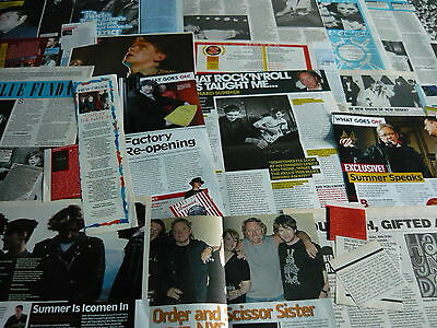 New Order - Magazine Cuttings Collection (Ref 3C)