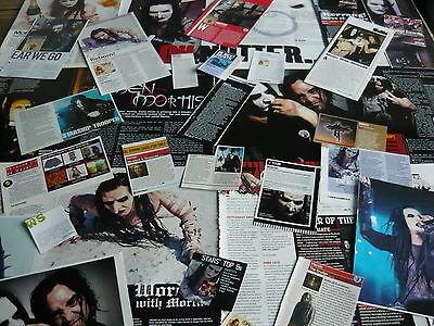 Mortiis - Magazine Cuttings Collection (Ref T30)