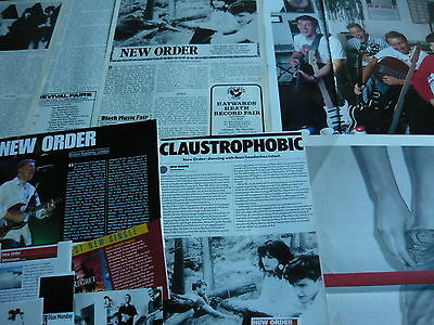 New Order - Magazine Cuttings Collection (Ref Z18)