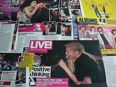 New Young Pony Club - Magazine Cuttings Collection (Ref Z16)