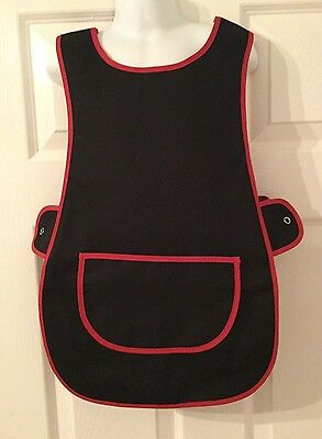 Wholesale Job Lot 10 Brand New Kids Childrens Tabards Aprons Black Clothes Craft