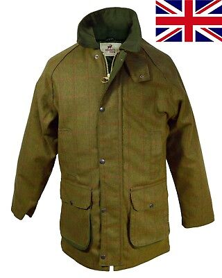 British UK Regents View Mens Gents Teflon Coated Tweed Jacket Hunting Country