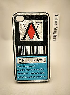 USA Seller Apple iPhone 4 & 4S Anime Phone case Hunter X Hunter License Card