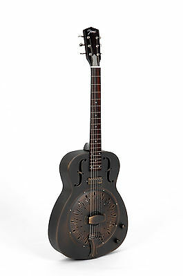 RESONATOR GUITAR JOHNSON JM-998 E A antic finish +Pickup (RRP 2016