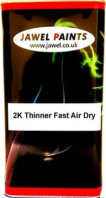 2K Thinner For Acrylic and Basecoat Car Paint Universal (FAST AIR DRY) 2.5 Litre