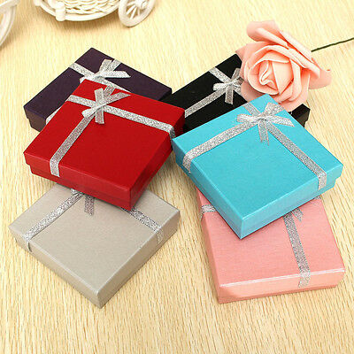 Jewellery Gift Boxes Bracelet Necklace Display Pendant Earring Storage Case Bag