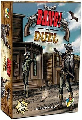 BANG! THE DUEL Gioco da Tavolo Italiano Da Vinci far west legge fuorilegge