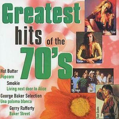 Various : Greatest Hits Of The 70's CD (1998)