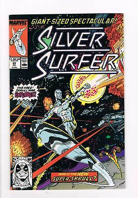 Silver Surfer # 25 Vol 2 1987 series !  grade - 8.5 scarce book !!