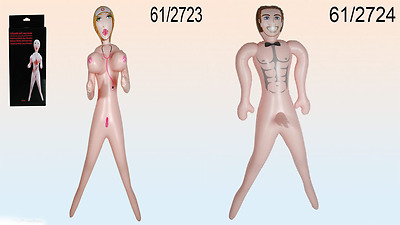 5ft Male Man , Women Blow Up Inflatable Doll Hen Stag Night Party Prop