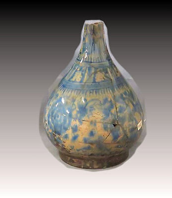 Turkish Blue On White Porcelain Vase c.19th century AD