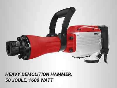 Demolition Hammer, 50 Joule, 1600 Watt, Matrix Germany