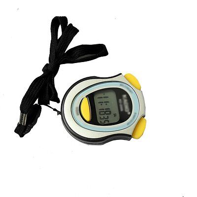Digital Running Timer Chronograph Stopwatch Counter with Strap Pop DW