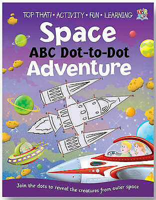 Dot to Dot Book (Space ABC) New
