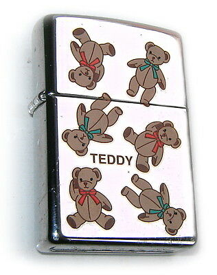 ZIPPO Beautiful 1999 TEDDY BEARs EURO-only-RELEASE Special Edition ULTRA RARE  !