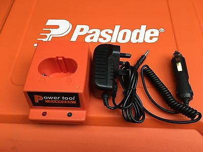 Replacement Charger Base/ Ac/dc Adapter For Paslode Tools Free In Car Charger