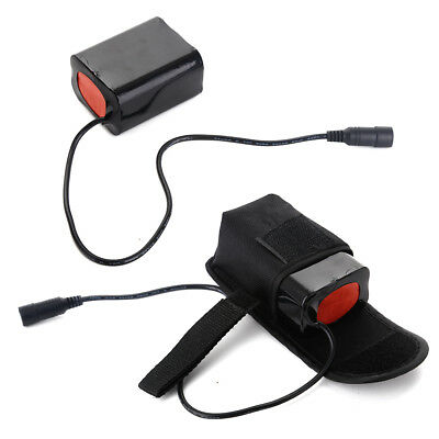 8.4V 13200mAh Rechargeable Battery Pack Pouch F CREE XML-T6 LED Bike Head Lamp