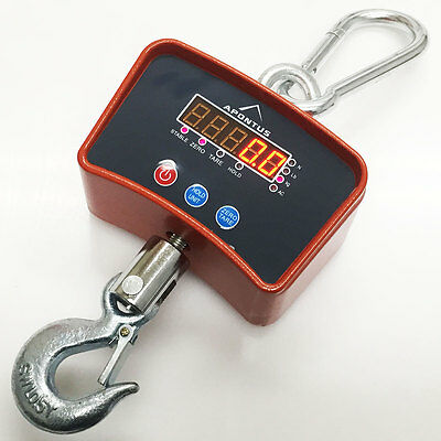 500 KG 1100 LBS Digital Hanging Scale Mini Industrial Crane Scale Warehouse