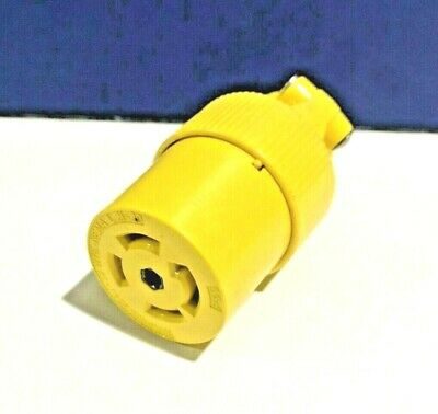 PASS & SEYMOUR NEW TURNLOK 4 Pole 5 Wire L2130C 30A L21-30 CONNECTOR Grounding