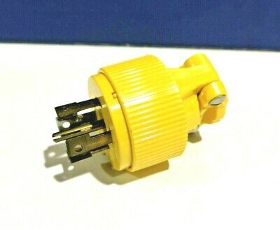 PASS & SEYMOUR NEW TURNLOK 4 Pole 5 Wire L2130P 30A 120/208V PLUG NOS