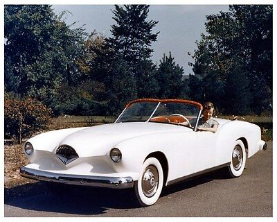 1953 Kaiser Darrin Prototype Factory Photo ca3766