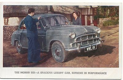 Morris Isis Original Factory Issued Postcard No Publication Number CREASED