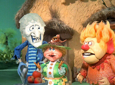 HEAT & SNOW MISER The Year Without Santa Claus 1974 TV Movie 8x10 Cast Photo